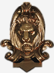 GREAT Logo - gold lions head
